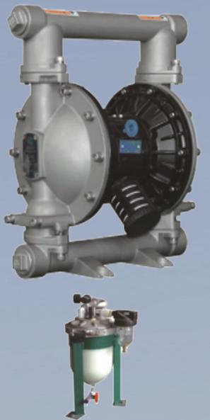 AL25带检测装置隔膜泵