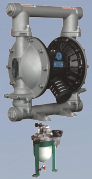 AL40带检测装置隔膜泵