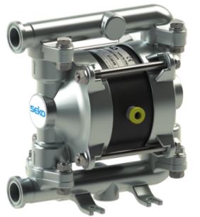 Duotek食品级 气动双隔膜泵