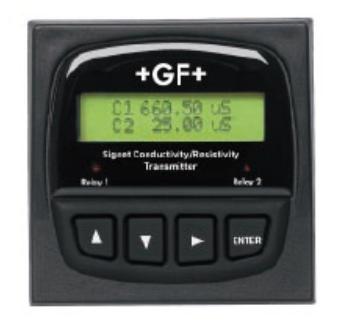 +GF+ Signet 8860双通道电导率/电阻率控制器