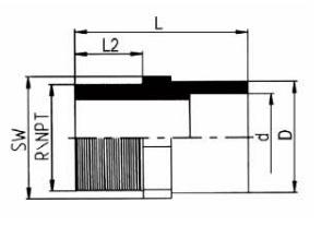 PP-H 承插管件 内螺纹管接头/NPT螺纹