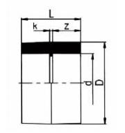 PVDF 对焊管件 平接头