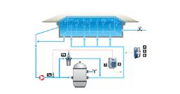 小型泳池产品典型安装示意