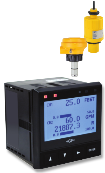 +GF+ Signet 9950 双通道变送器