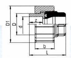 PVDF 对焊管件 活接