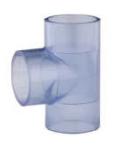 国标/美标PVC透明三通