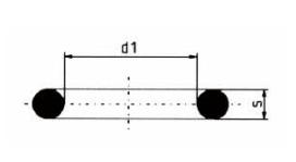 PP-H 对焊管件 0型密封圈FPM